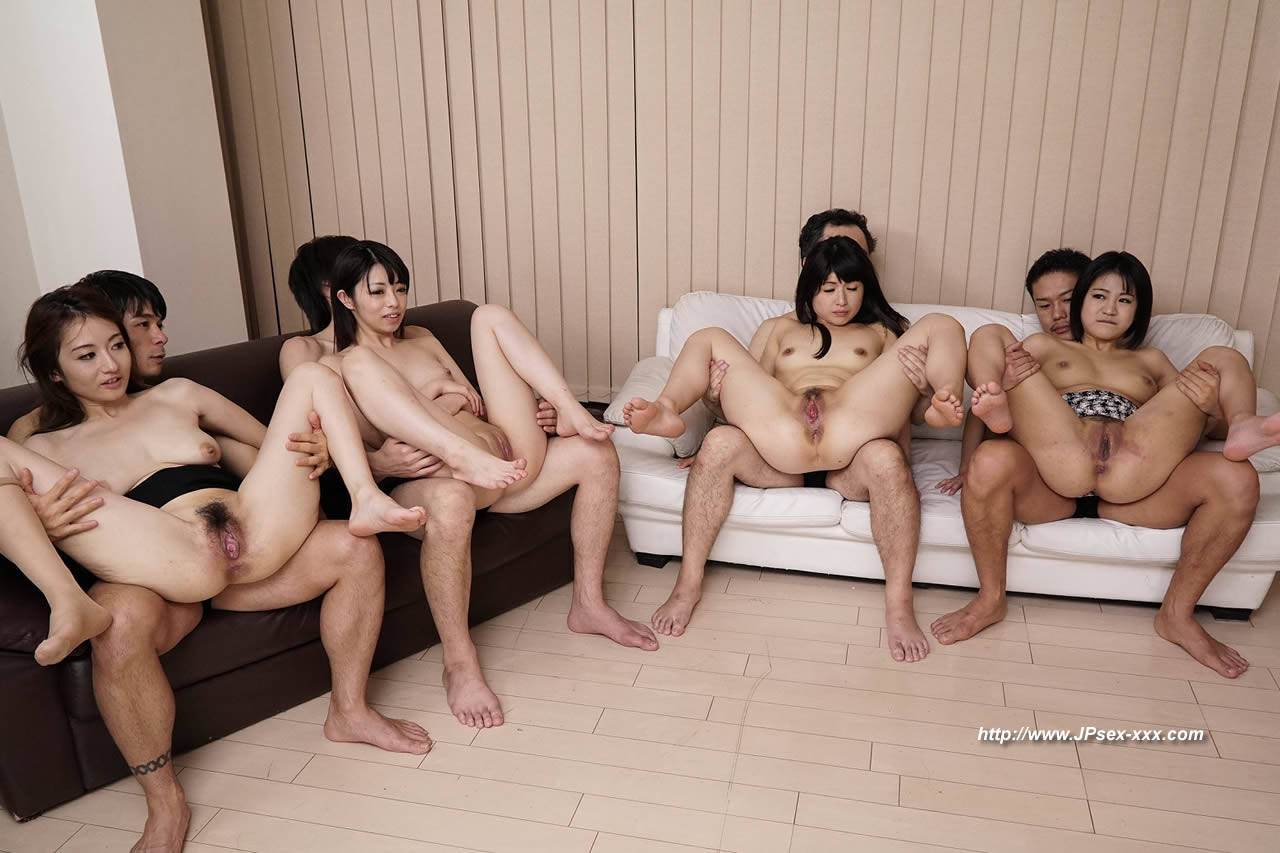 Japanese group sex tube join. happens