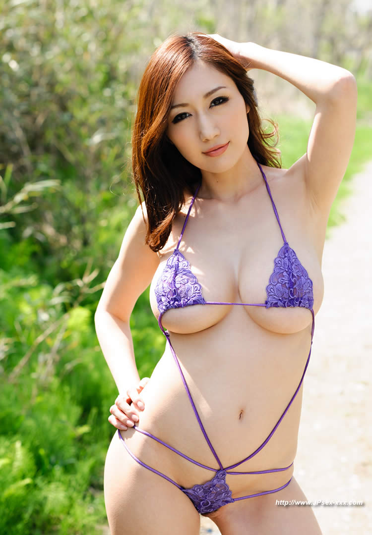 image Japanese av model in heats endures a good